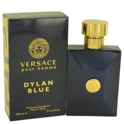 Versace Pour Homme Dylan Blue By Versace Deodorant Spray 3.4 Oz For Men #536345