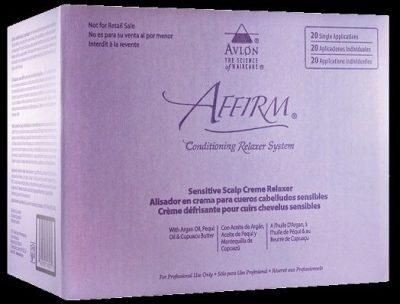 Affirm Sensitive Scalp Creme Relaxer -20-Pack