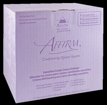 Affirm Sensitive Scalp Creme Relaxer - 9 Pack