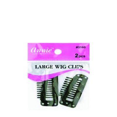 Annie 3160 Wig Clip Blk Lg