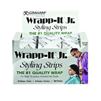 Graham Wrapp-It Jr. Strip-Blk 9/Cs #37350