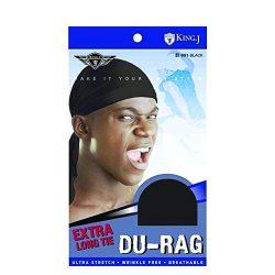 M&M 001 Du Rag Black