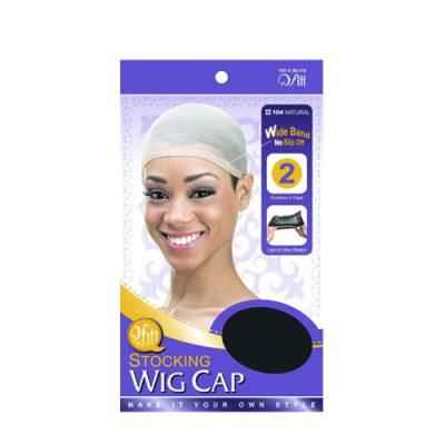 M&M 104 Stocking Wig Cap 2Pcs Natural
