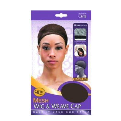 M&M 556 Closed Top Wig & Weave Cap Brown
