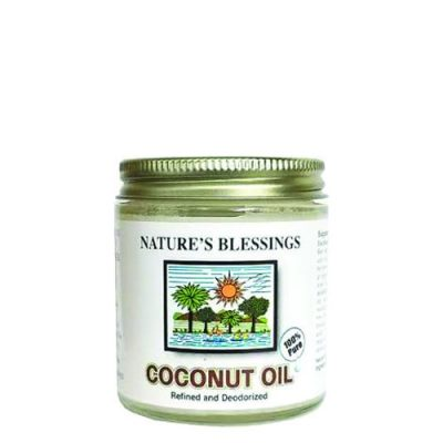 Nature Blessing Coconut Oil 4 Oz