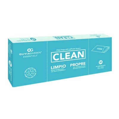 Olivia Garden Clean Bag Large 100Pc Box