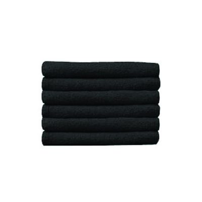 Prism Bcr Towel 16X29 Ctn-Black 1Dz
