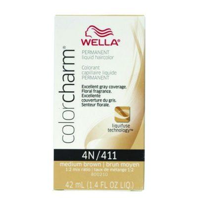 Wella Color Charm Liquid 411/4N Medium Brown