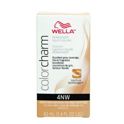 Wella Color Charm Liquid Color 4Nw Medium Natural Warm Brown