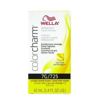 Wella Color Charm Liquid Color 725/7G Sunlight Blonde Brown