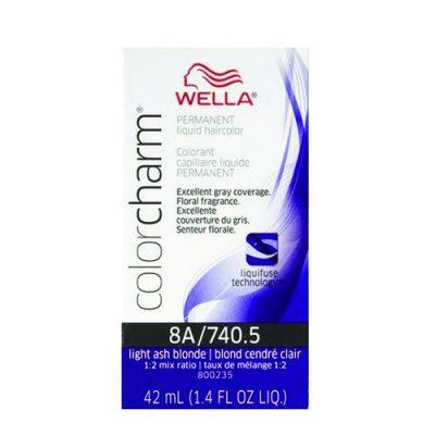 Wella Color Charm Liquid Color 740.5/8A Light Ash Blonde